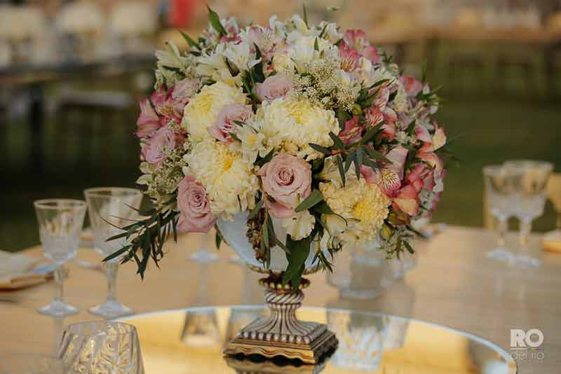 detalles en amarillo para boda