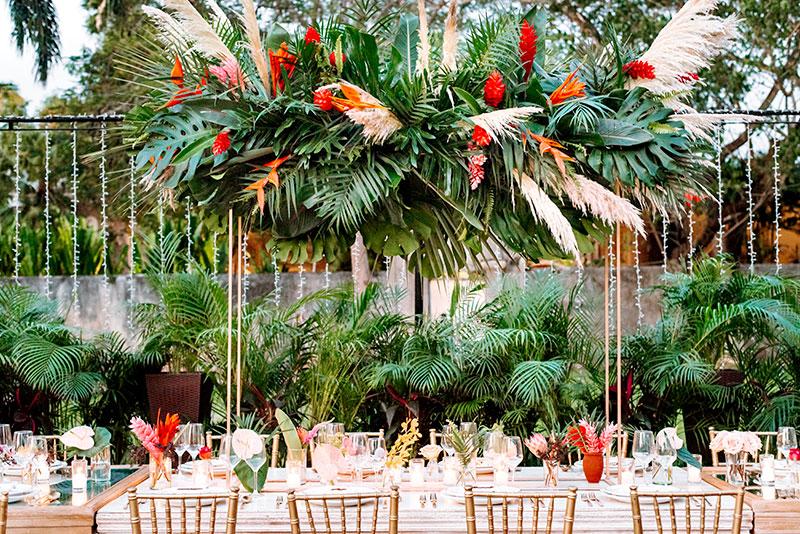 arcos florales para boda