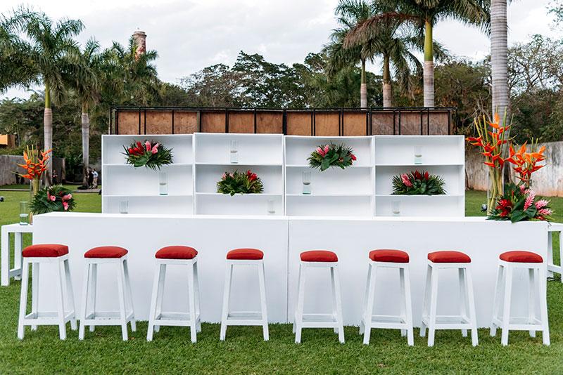 bar para boda