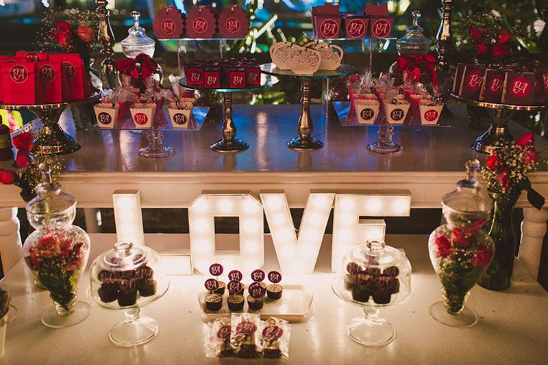 letrero para boda
