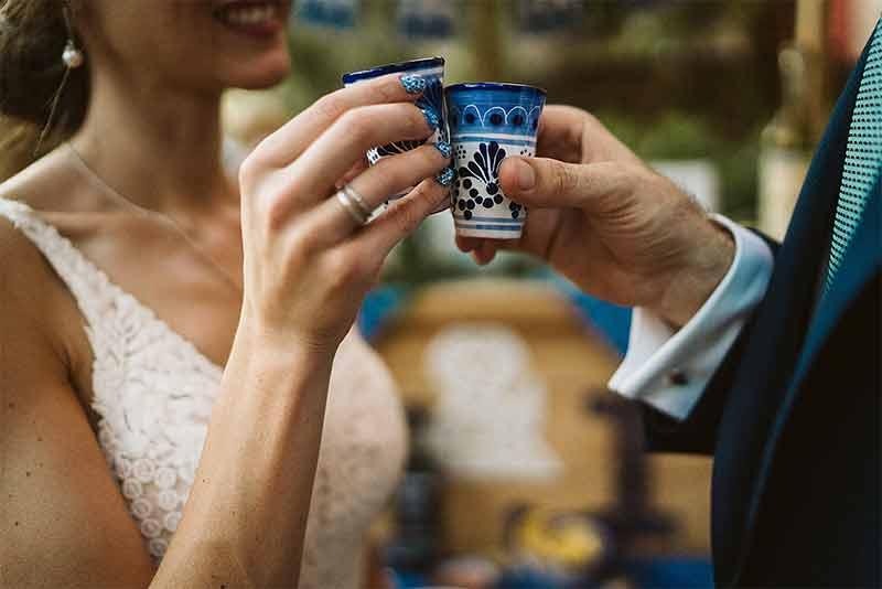 shots para boda