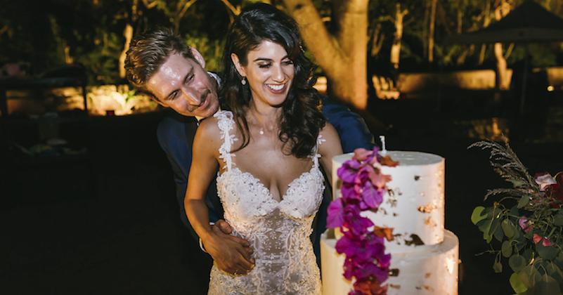 pastel para bodas