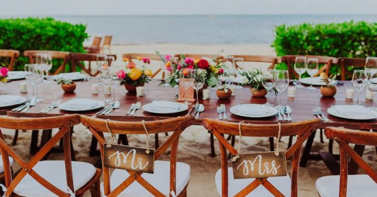 ✅Wedding furniture rental in Cancun: the details you shouldn't forget⛱️