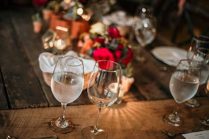 cristalería para boda en yucatan
