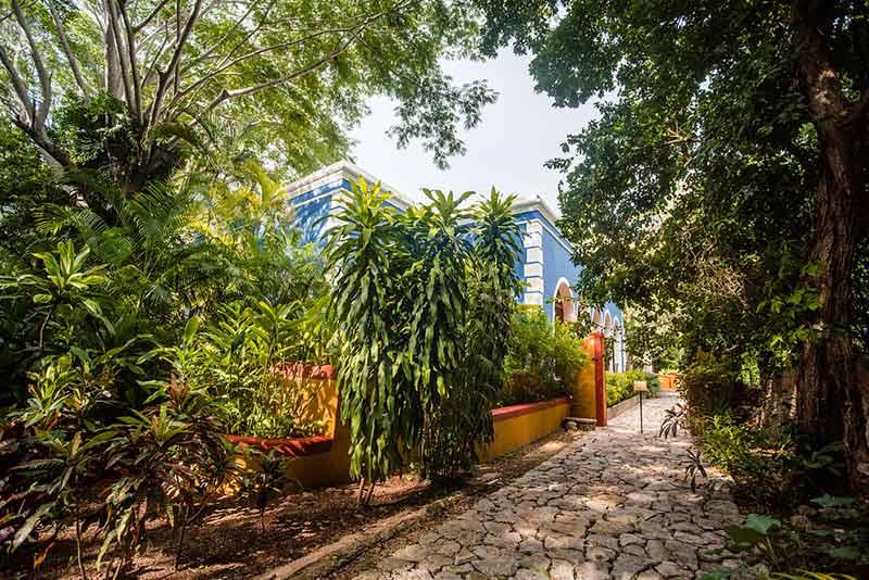 entrada a hacienda yucatan