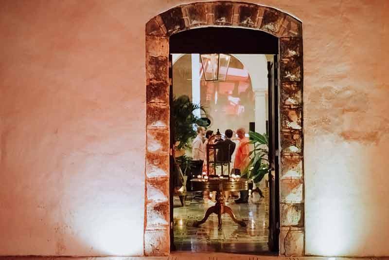 welcome dinner en yucatan