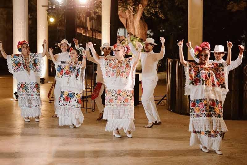 jarana para cena de bienvenida en yucatan