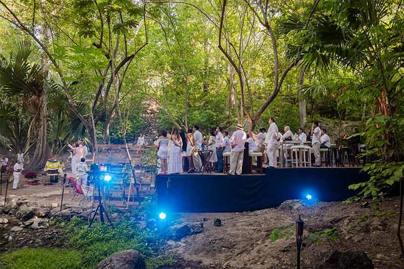 boda en cenote yucatan