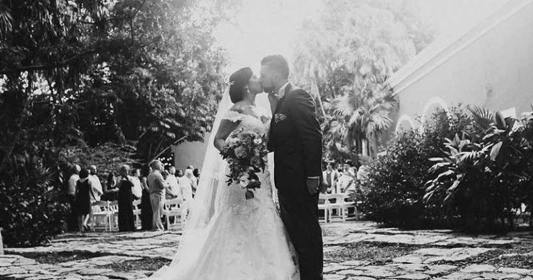 Ceremony at Hacienda San José Cholul 🌼 Vanessa & Jordan