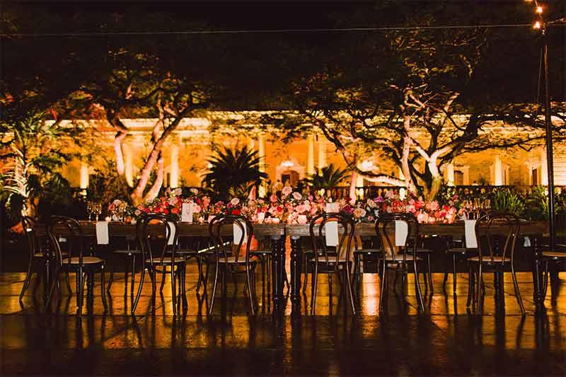 banquete boda yucatan