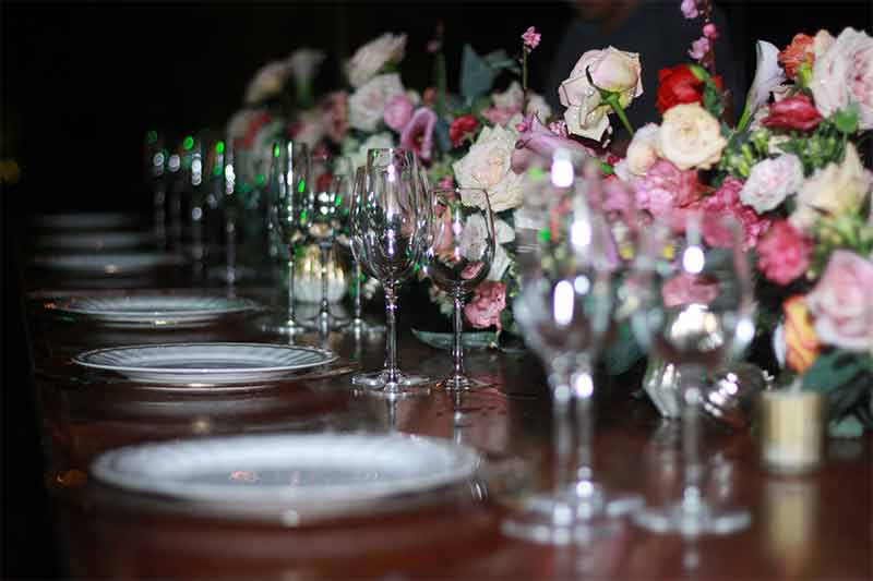 cristaleria para boda