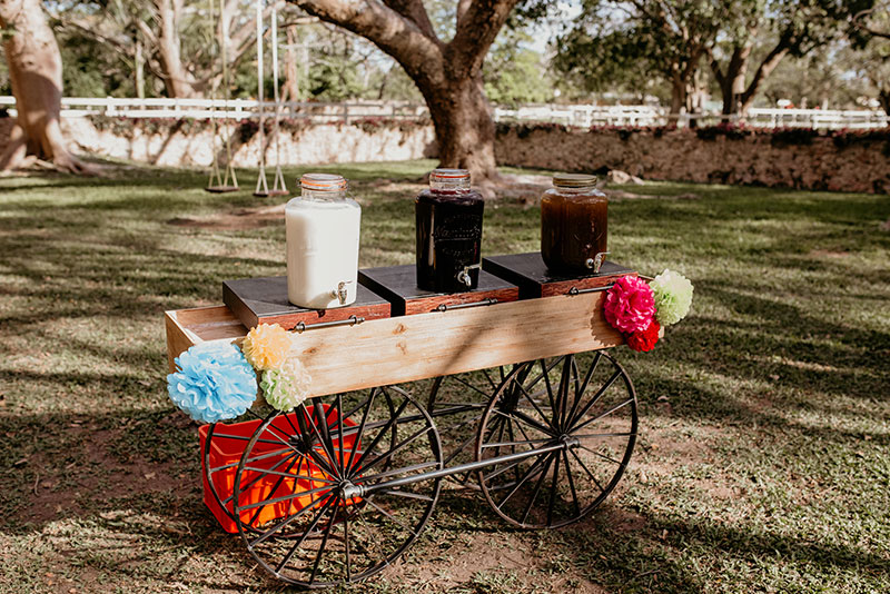 bebidas para boda mexicana