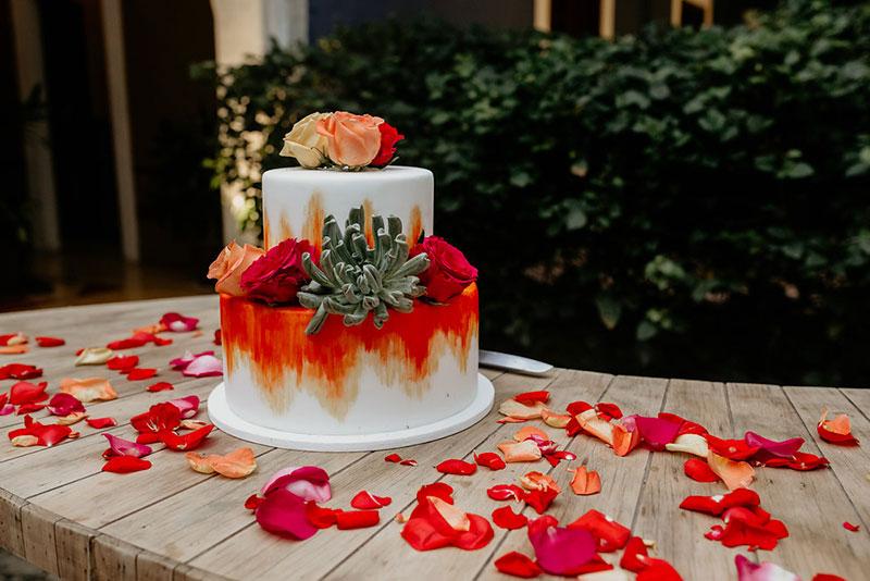 pastel para boda mexicana