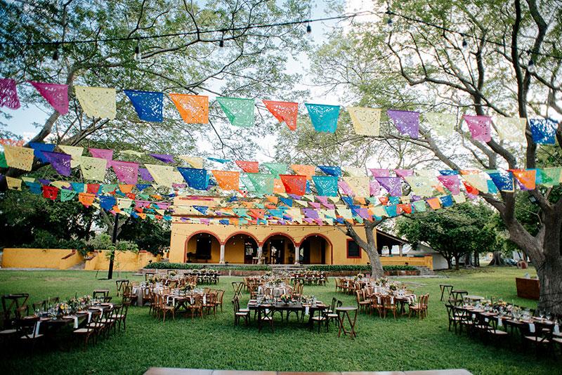 decoracion para boda mexicana