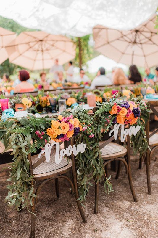sillas para boda mexicana