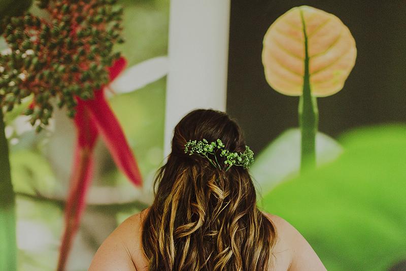 peinado para boda en playa