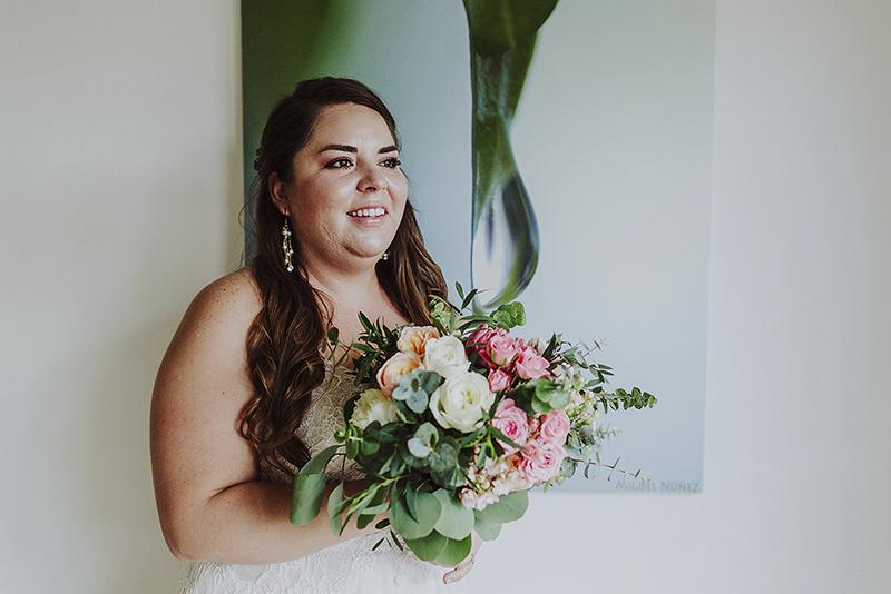 ramo de boda para novia