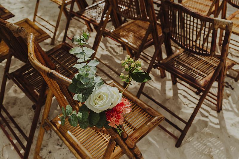 mobiliario para boda en cozumel