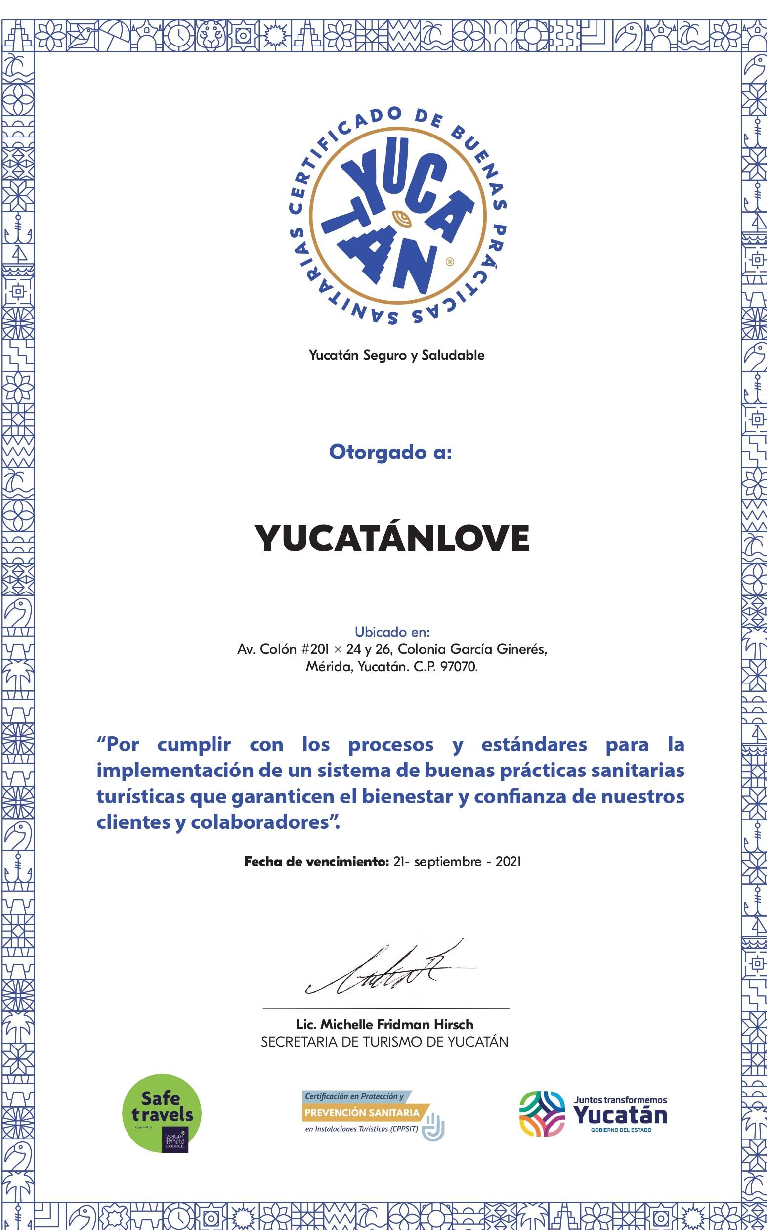 certificado de buenas practicas