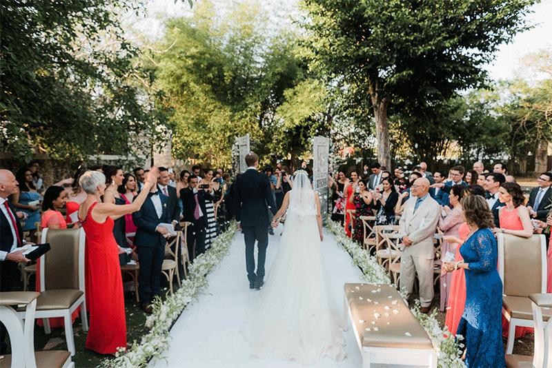 ceremonia wedding yucatan hacienda