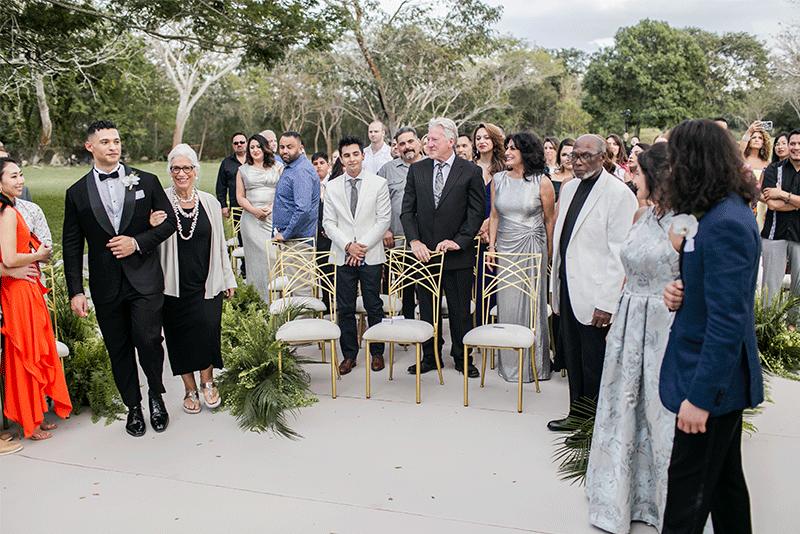 ceremonia simbolica en yucatan