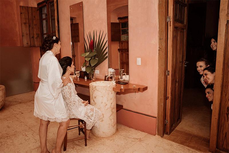 getting ready hacienda yucatan