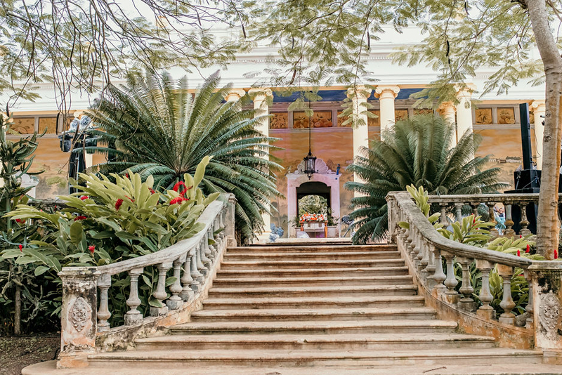 Entrada en Hacienda en Mérida