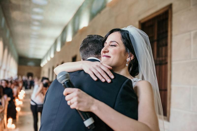 Una ceremonia llena de amor