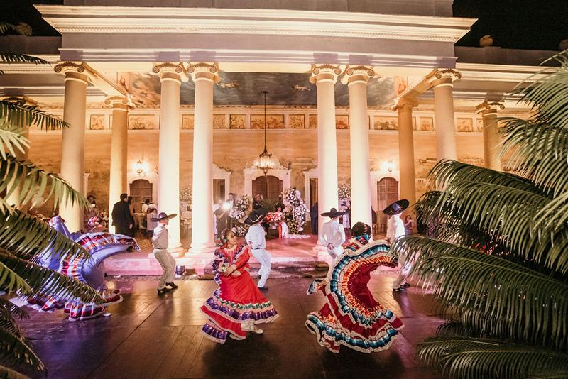 Ballet folklorico en boda
