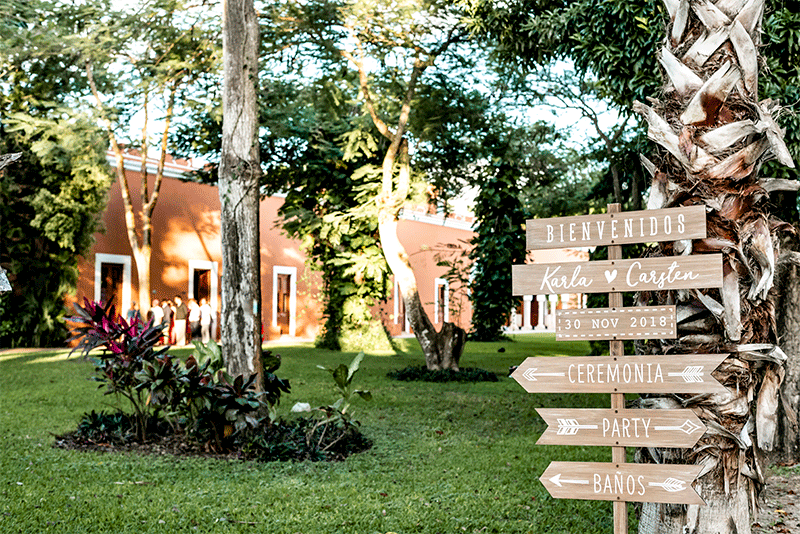 Entrada Hacienda Chichi Suarez