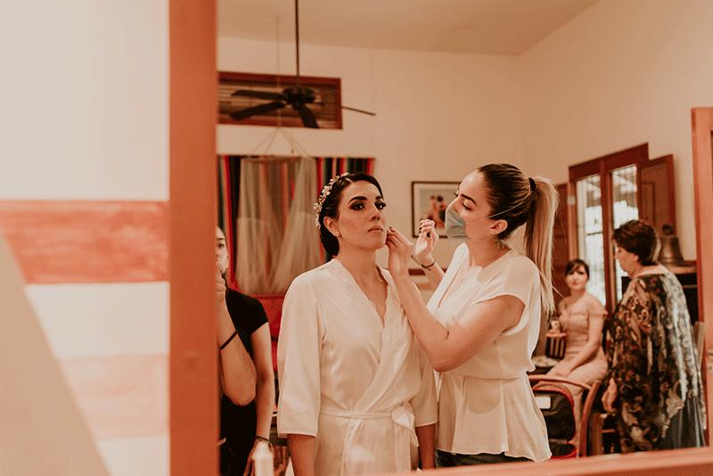 servicio de maquillaje para novia