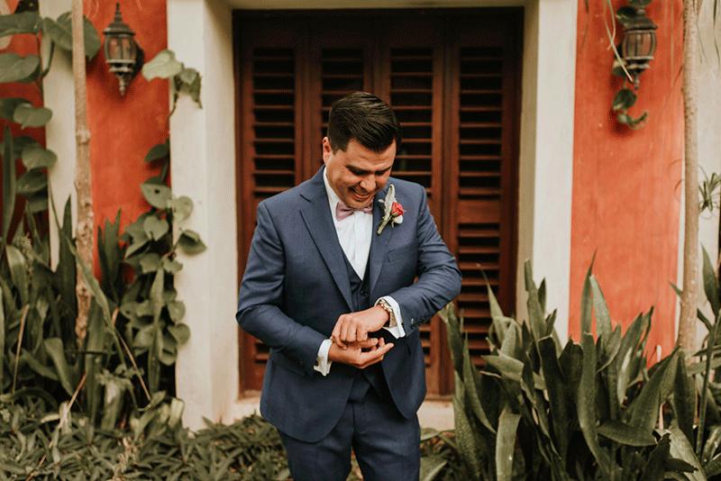 getting ready en hacienda yucatan