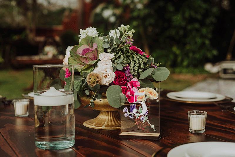 vajillas para boda yucatan