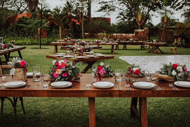 mesas imperiales para boda
