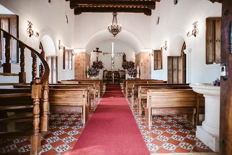 Religious chapel for wedding