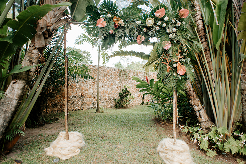 Wedding at hacienda