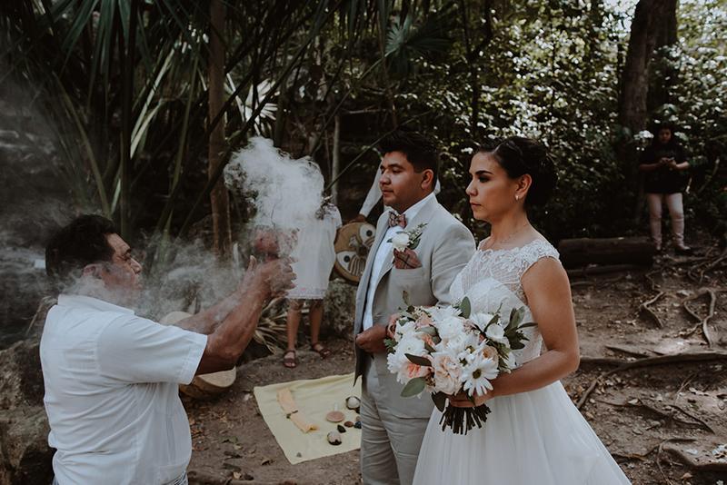 ceremonia en cenote
