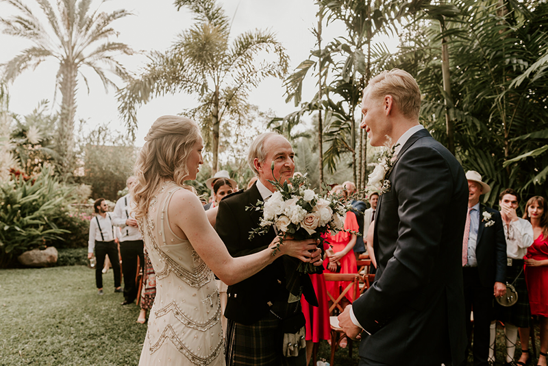ceremony wedding en hacienda