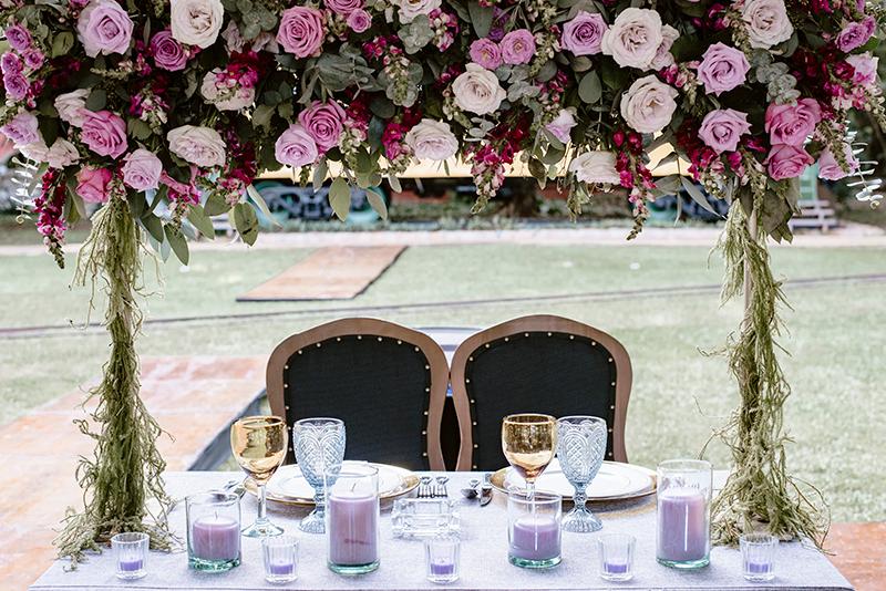 Detalles de boda en hacienda