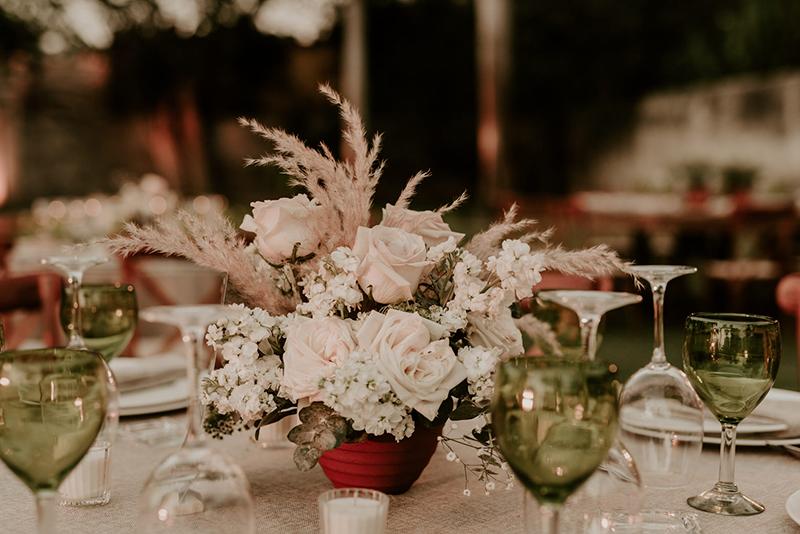 mesa para boda en hacienda