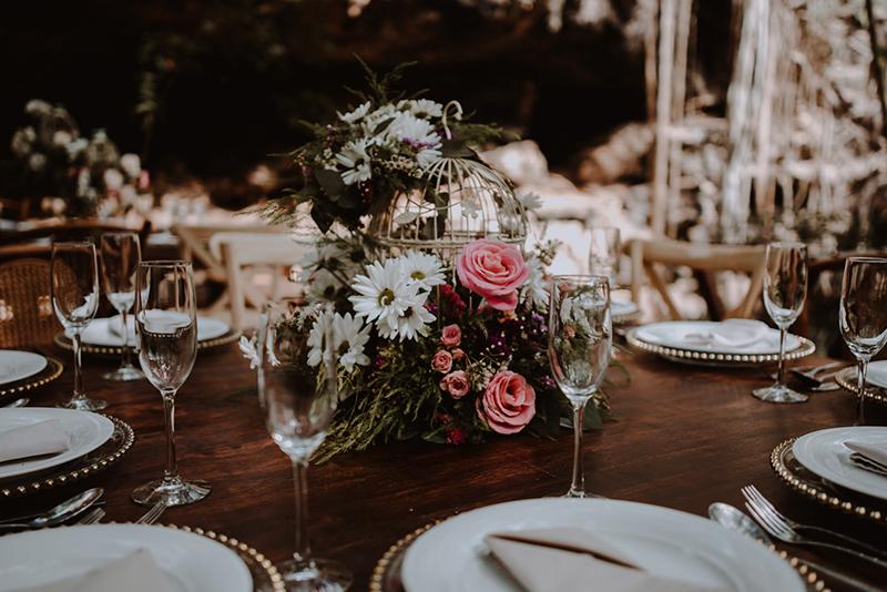 Detalles para boda en cenote