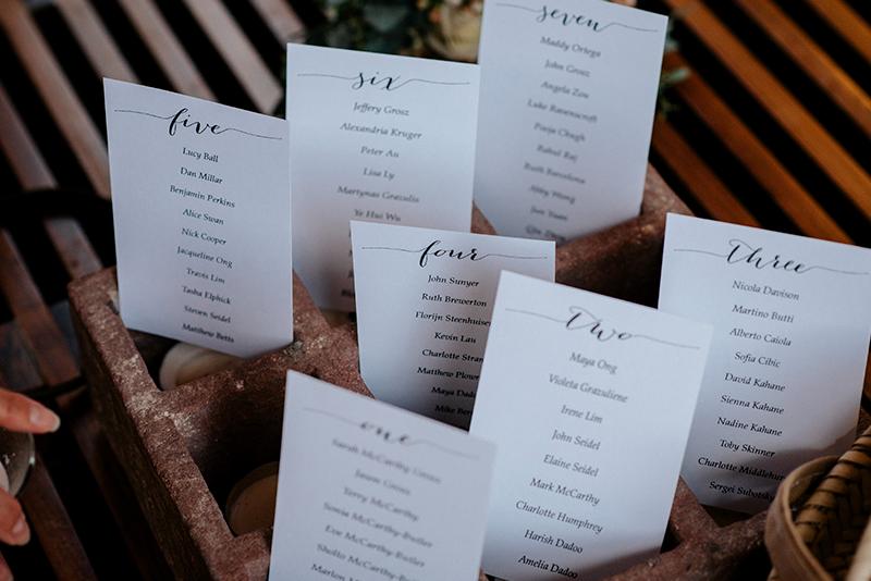Detalles en boda en hacienda