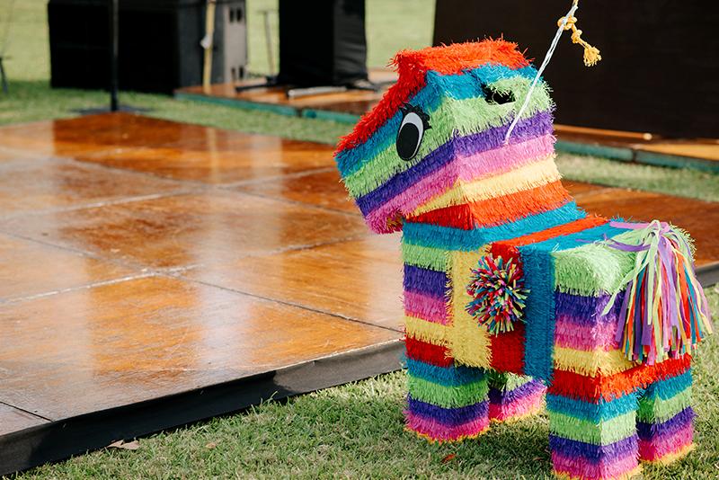Piñata en boda en Yucatán