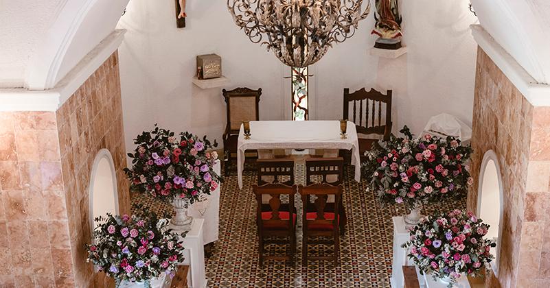 Ceremony at Hacienda Sotuta de Peón