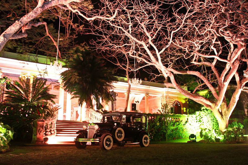 Gatsby theme at wedding