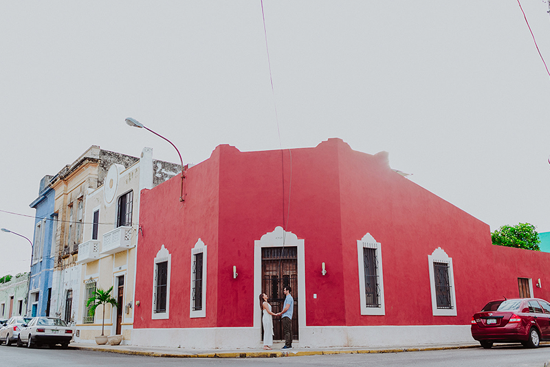 Viaje romántico en Yucatán