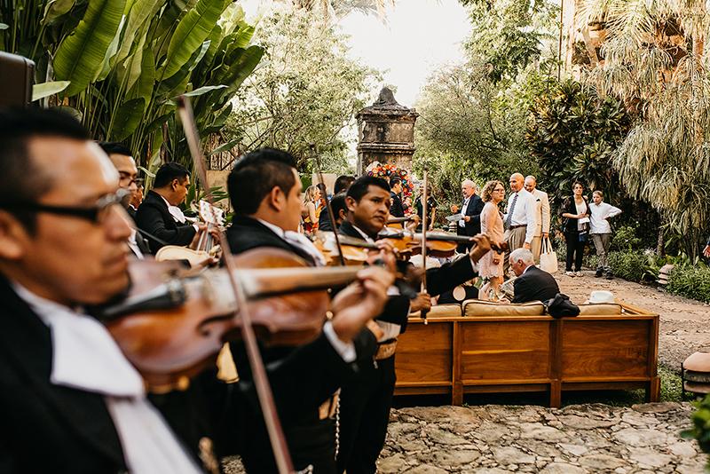 Música en pedida de matrimonio