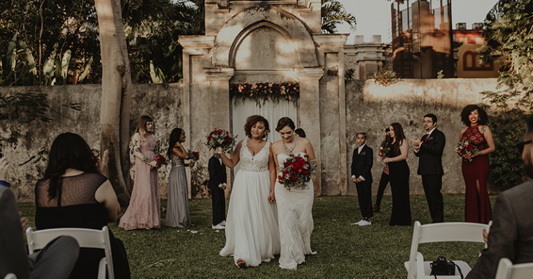 Wedding Ceremony at Hacienda Sac Chich 🌈 Ronna & Ali