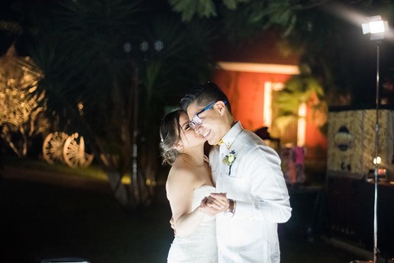 Ceremony wedding at hacienda