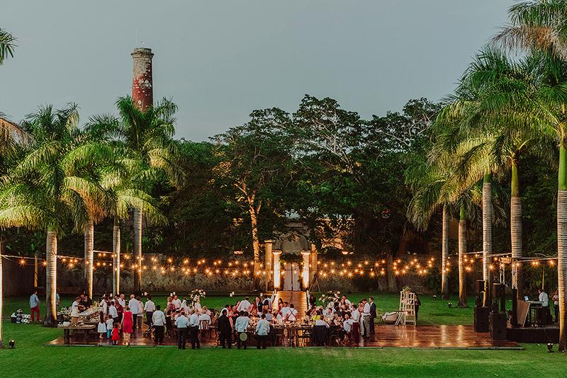 After-party at hacienda in Mérida